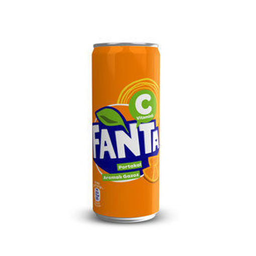 Picture of FANTA PORTAKAL 250 ML TENEKE