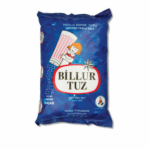 Picture of BİLLUR İYOTLU SOFRA TUZU 750 GR
